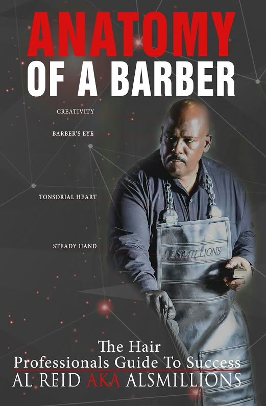 "Slated to be the go-to book for barbers and stylists seeking success in the hair industry today, Al Reid, better known as ""Alsmillions"", covers everything from identifying the special abilities of barbers to how to build a productive clientele from just 5 clients. As a master educator, CEO and entrepreneur, Al digs deep into the wealth of his over 26 years of experience to share with you, the major factors that gives a barber or stylist true success in this competitive field. No fluff here. Al shares ""wisdom without the pain"", an invaluable tool to have as you build your hair business. Stay on the right track when you read Anatomy Of A Barber, The Professionals Guide To Success."